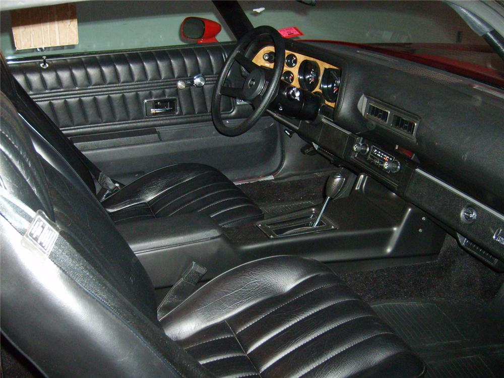 1977 CHEVROLET CAMARO Z/28 COUPE - Interior - 71748