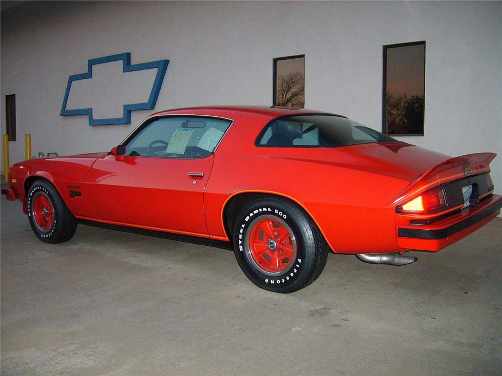 1977 CHEVROLET CAMARO Z/28 COUPE - Rear 3/4 - 71748