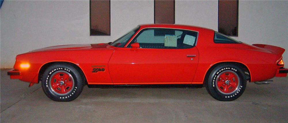 1977 CHEVROLET CAMARO Z/28 COUPE - Side Profile - 71748