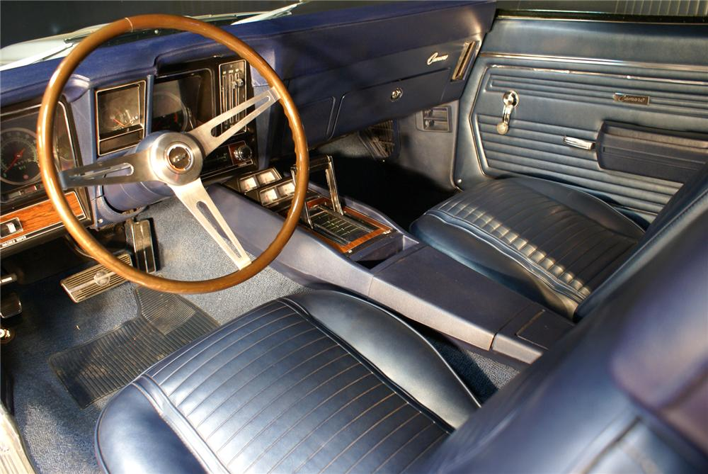 1969 CHEVROLET CAMARO COPO COUPE - Interior - 71749