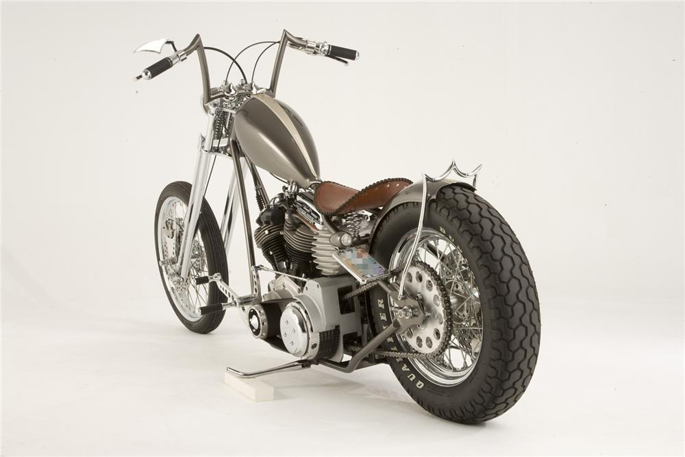 2007 PAUL YAFFE ORIGINAL OLD SCHOOL CHOPPER - Rear 3/4 - 71751