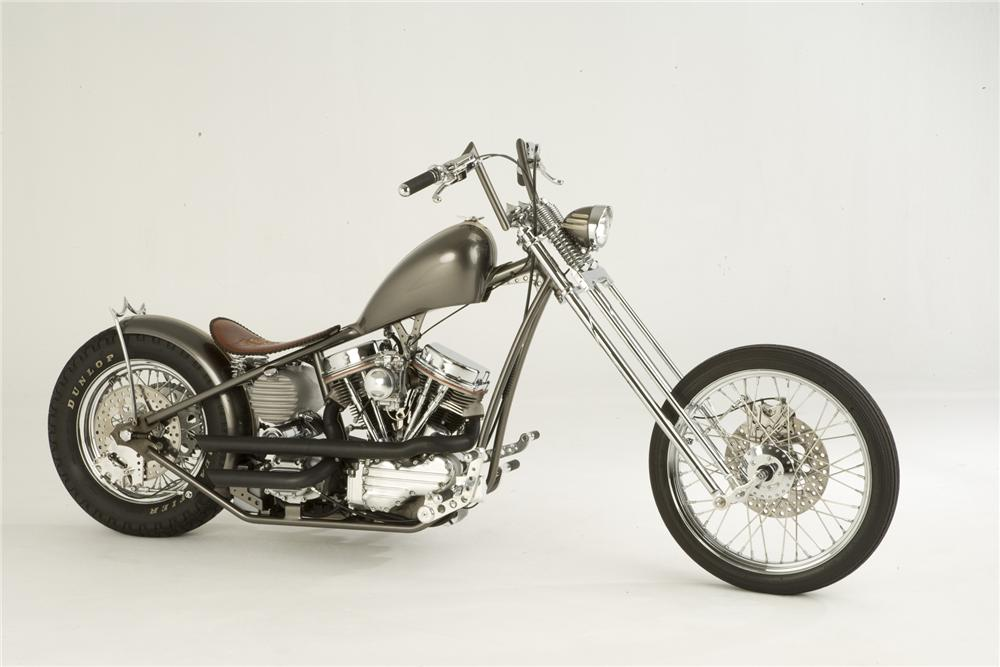 2007 PAUL YAFFE ORIGINAL OLD SCHOOL CHOPPER - Side Profile - 71751