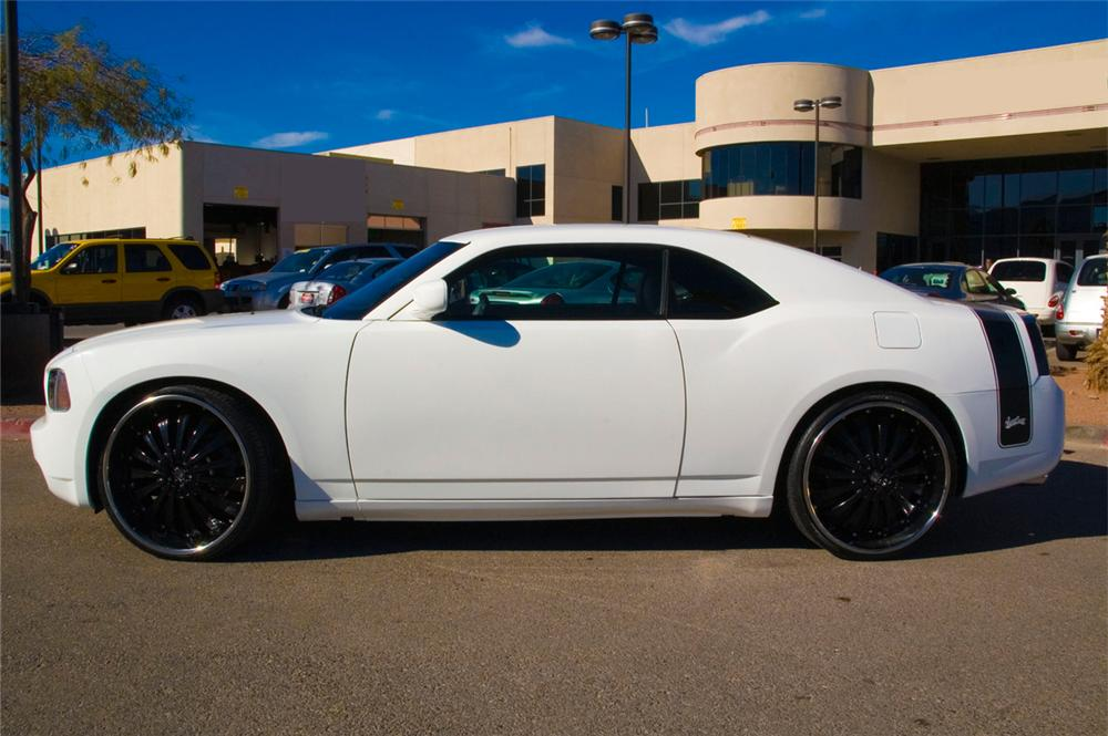 "2007 DODGE CHARGER ""WEST COAST CUSTOMS"" COUPE - Side Profile - 71754"