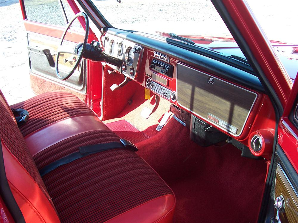 1971 CHEVROLET SUPER CHEYENNE PICKUP - Interior - 71761