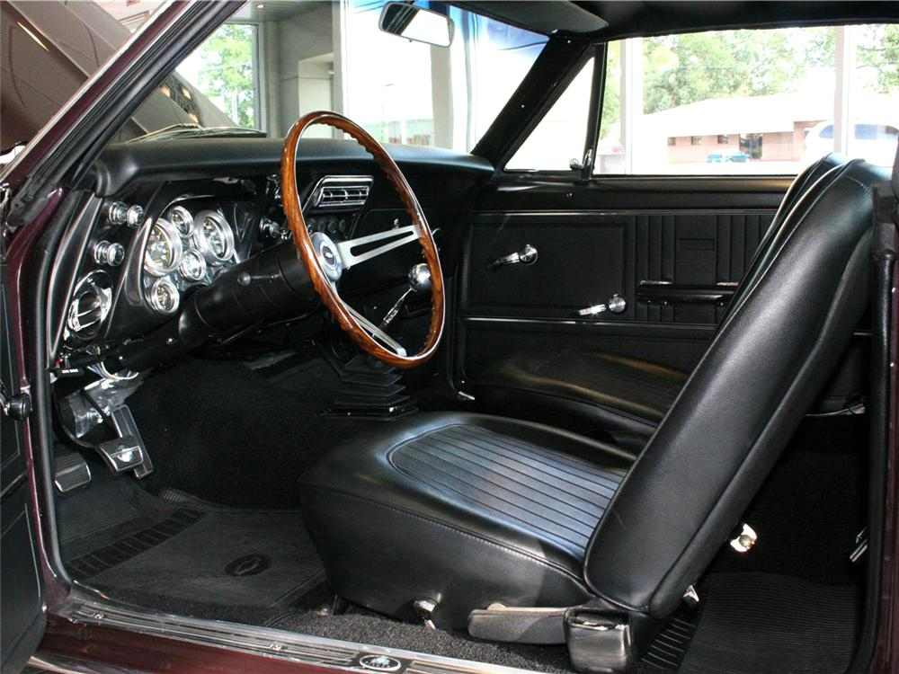 1967 CHEVROLET CAMARO CUSTOM 2 DOOR HARDTOP - Interior - 71770