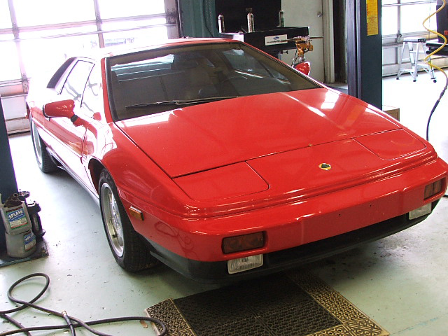 1989 LOTUS ESPRIT 2 DOOR COUPE - Front 3/4 - 71771