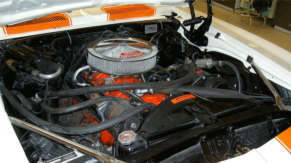 1969 CHEVROLET CAMARO SS CONVERTIBLE - Engine - 71773