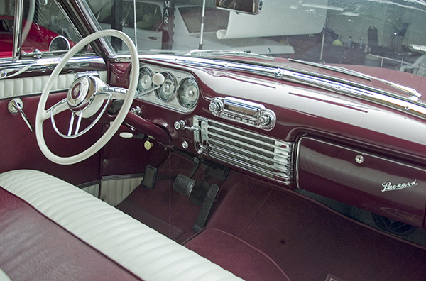 1953 PACKARD CARIBBEAN CONVERTIBLE - Interior - 71777