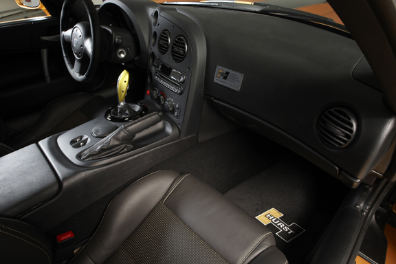 2008 DODGE VIPER SRT/10 50TH ANNIVERSARY HURST COUPE #1 - Interior - 71782