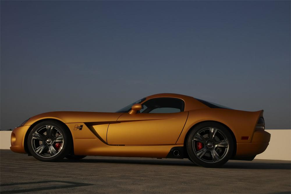2008 DODGE VIPER SRT/10 50TH ANNIVERSARY HURST COUPE #1 - Side Profile - 71782