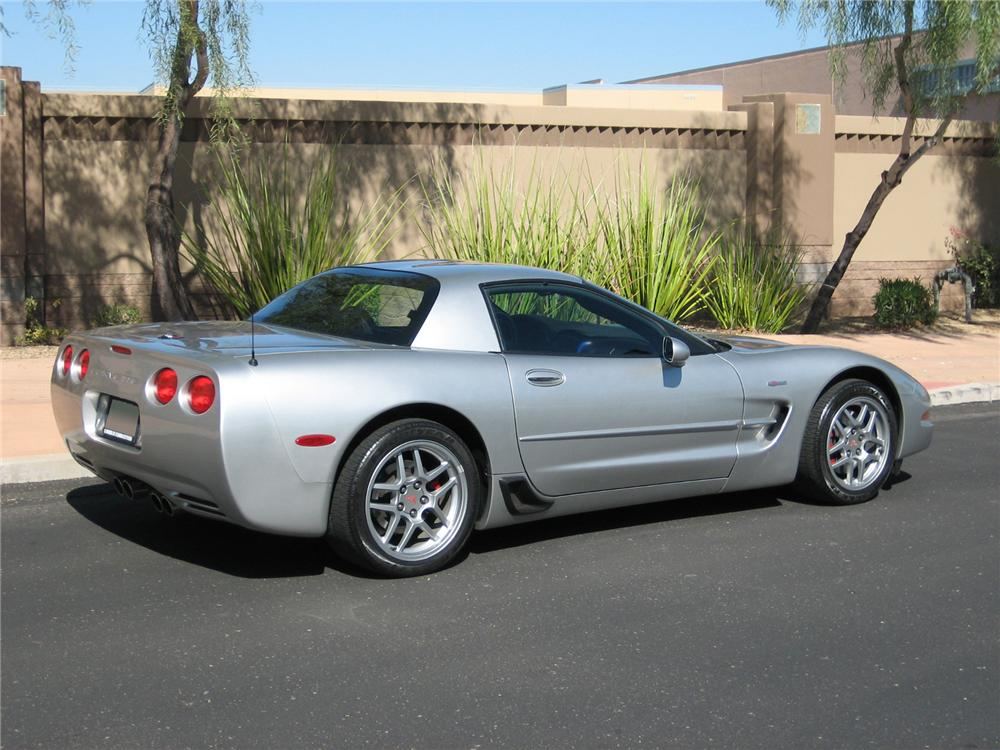 2004 CHEVROLET CORVETTE Z06 COUPE - Rear 3/4 - 71786