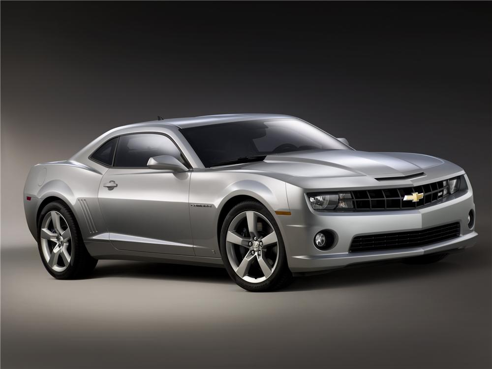 """2010 CHEVROLET CAMARO """"FIRST RETAIL PRODUCTION"""" COUPE - Front 3/4 - 71789"""