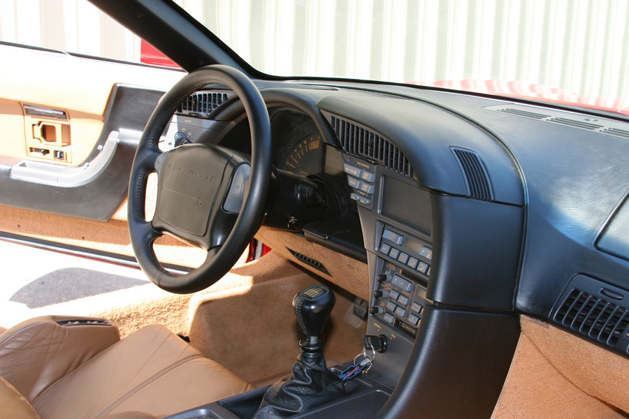 1990 CHEVROLET CORVETTE ZR-1 COUPE - Interior - 71817