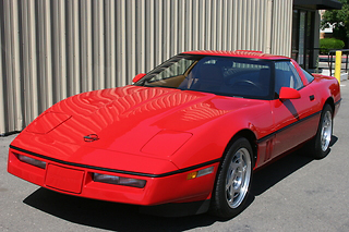 1990 CHEVROLET CORVETTE ZR-1 COUPE - Side Profile - 71817