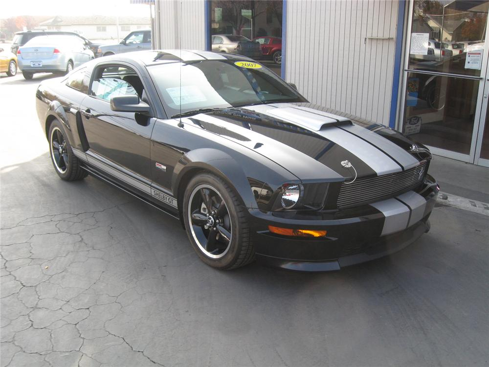 2007 FORD SHELBY GT 2 DOOR HARDTOP - Front 3/4 - 71822
