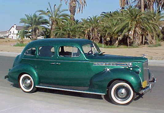 1940 PACKARD 110 4 DOOR SEDAN - Side Profile - 71823