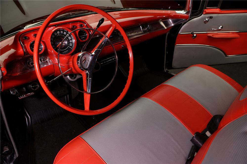 1957 CHEVROLET BEL AIR CUSTOM CONVERTIBLE - Interior - 71827