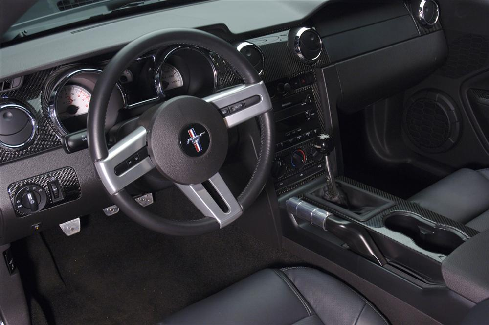"""2006 FORD MUSTANG ROUSH STAGE 3 """"BLACKJACK"""" - Interior - 71828"""