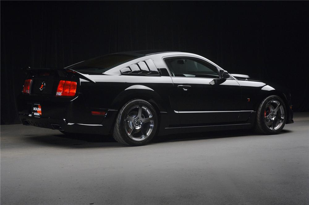 """2006 FORD MUSTANG ROUSH STAGE 3 """"BLACKJACK"""" - Rear 3/4 - 71828"""
