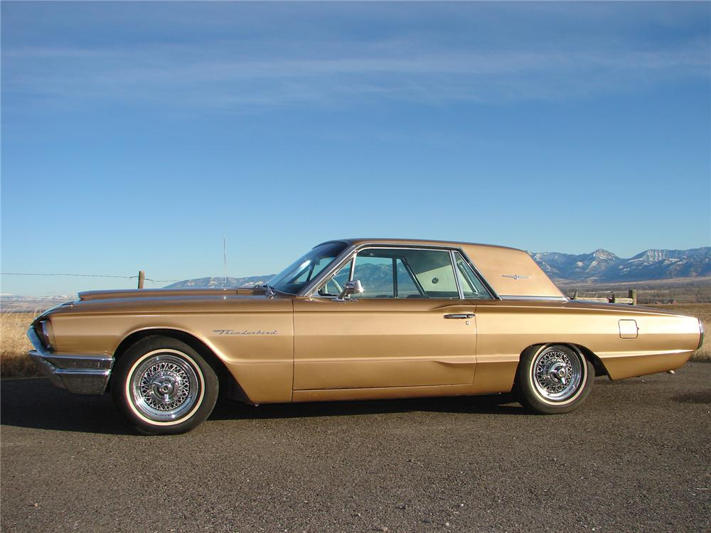 1964 FORD THUNDERBIRD 2 DOOR COUPE - Side Profile - 71831
