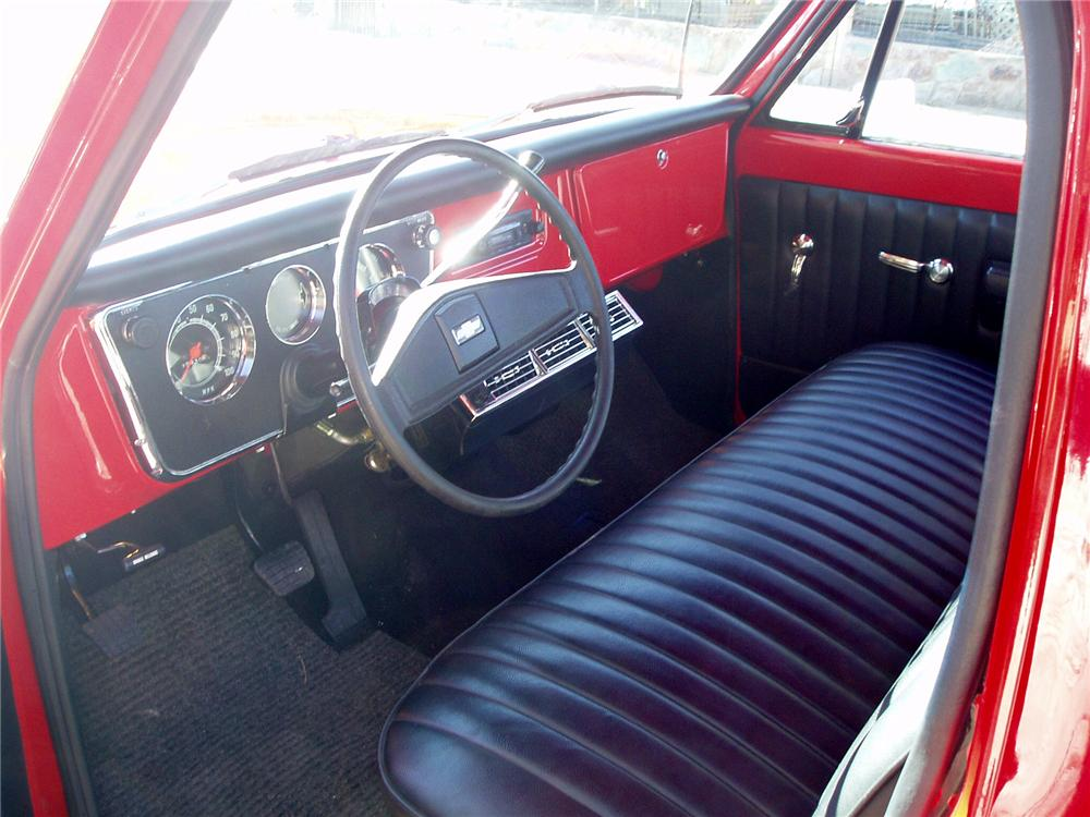 1970 CHEVROLET C-10 PICKUP - Interior - 71832
