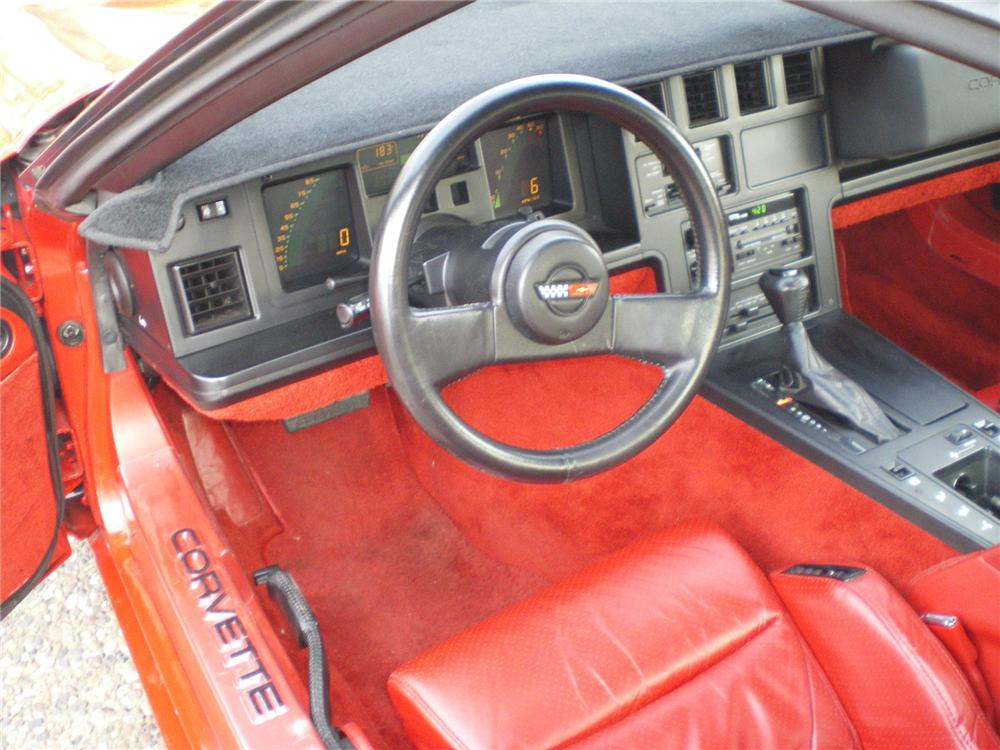 1986 CHEVROLET CORVETTE COUPE - Interior - 71837