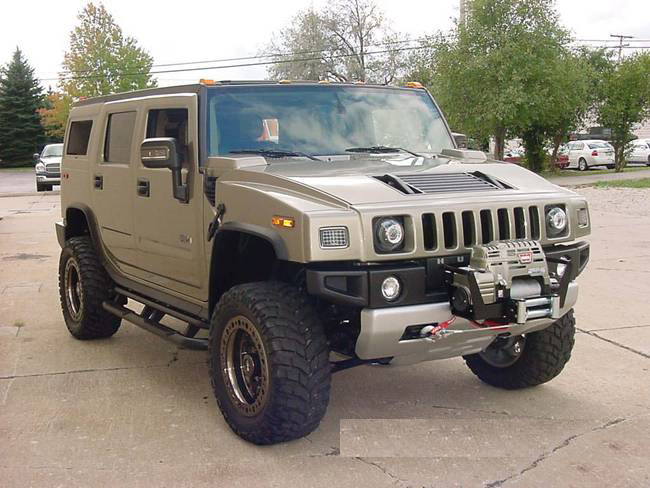"2007 HUMMER H2 CUSTOM ""SAFARI"" - Front 3/4 - 71850"