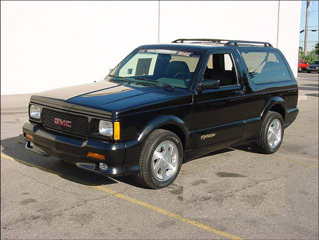 "1993 GMC TYPHOON 2 DOOR SUV ""LAST BUILT"" - Front 3/4 - 71861"