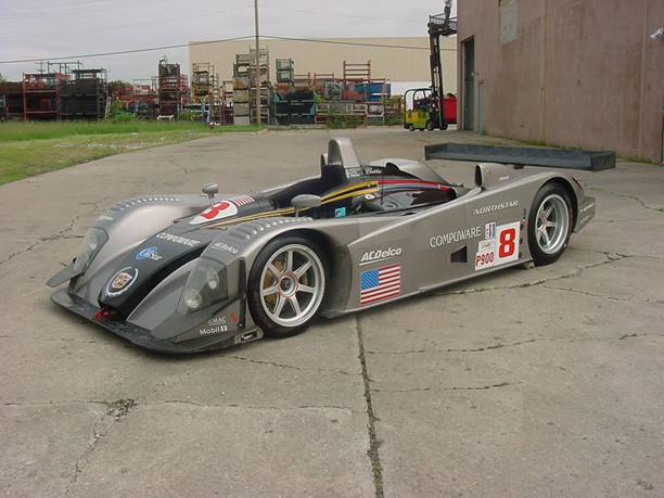 2001 CADILLAC LMP #8 RACE CAR - Front 3/4 - 71893
