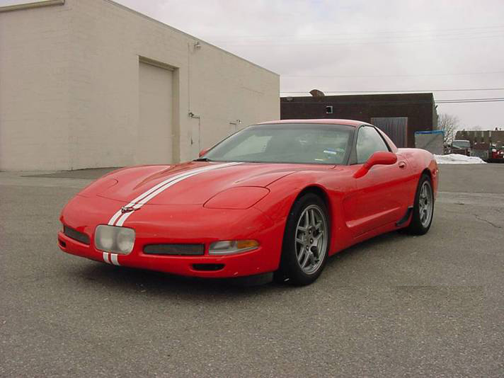 2000 CHEVROLET CORVETTE Z06 RACE CAR PROTOTYPE - Front 3/4 - 71901
