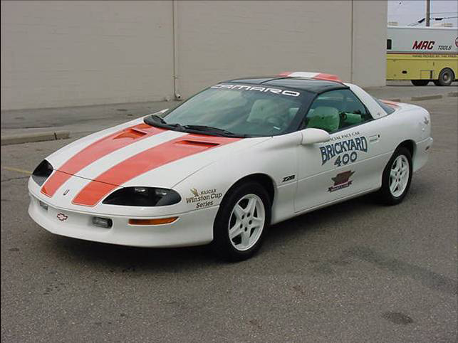 1996 CHEVROLET CAMARO BRICKYARD PACE CAR - Front 3/4 - 71910