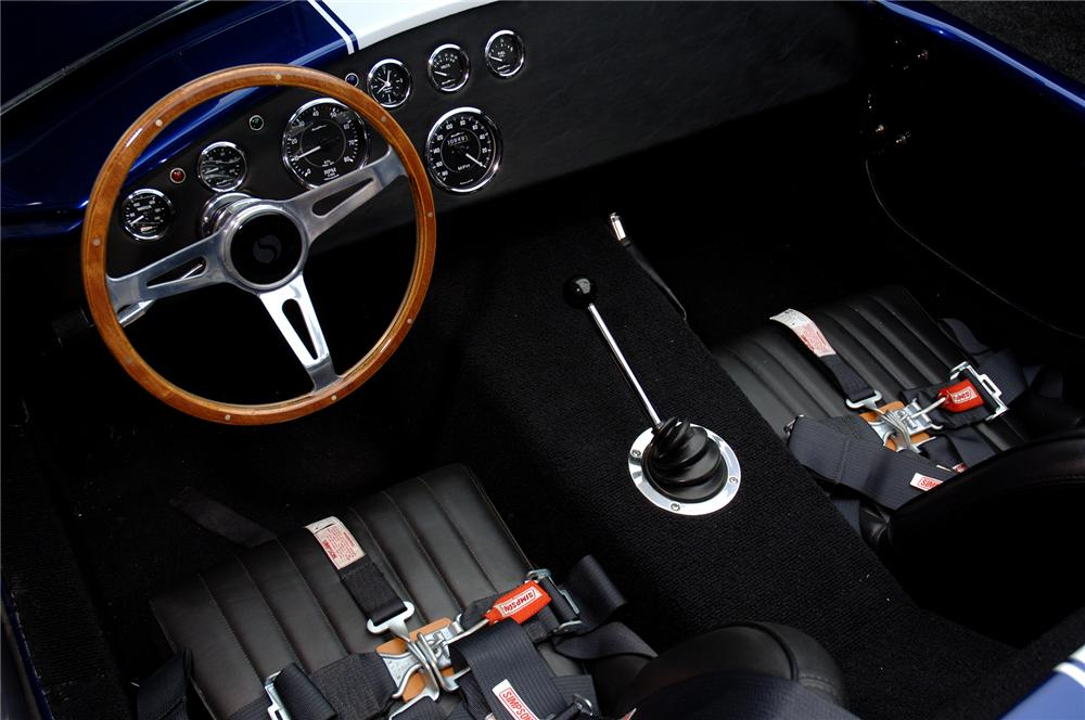 1965 FACTORY FIVE SHELBY COBRA RE-CREATION ROADSTER - Interior - 71923