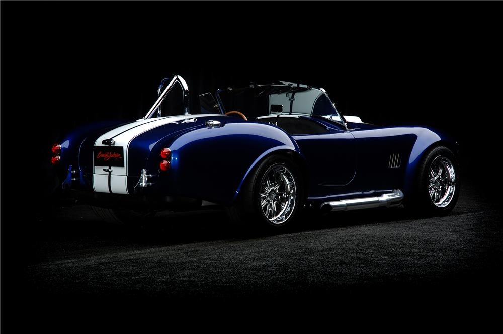 1965 FACTORY FIVE SHELBY COBRA RE-CREATION ROADSTER - Rear 3/4 - 71923