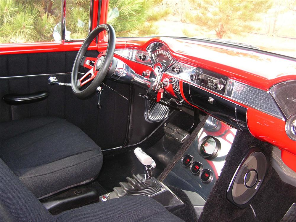 1955 CHEVROLET 210 2 DOOR SEDAN - Interior - 71924