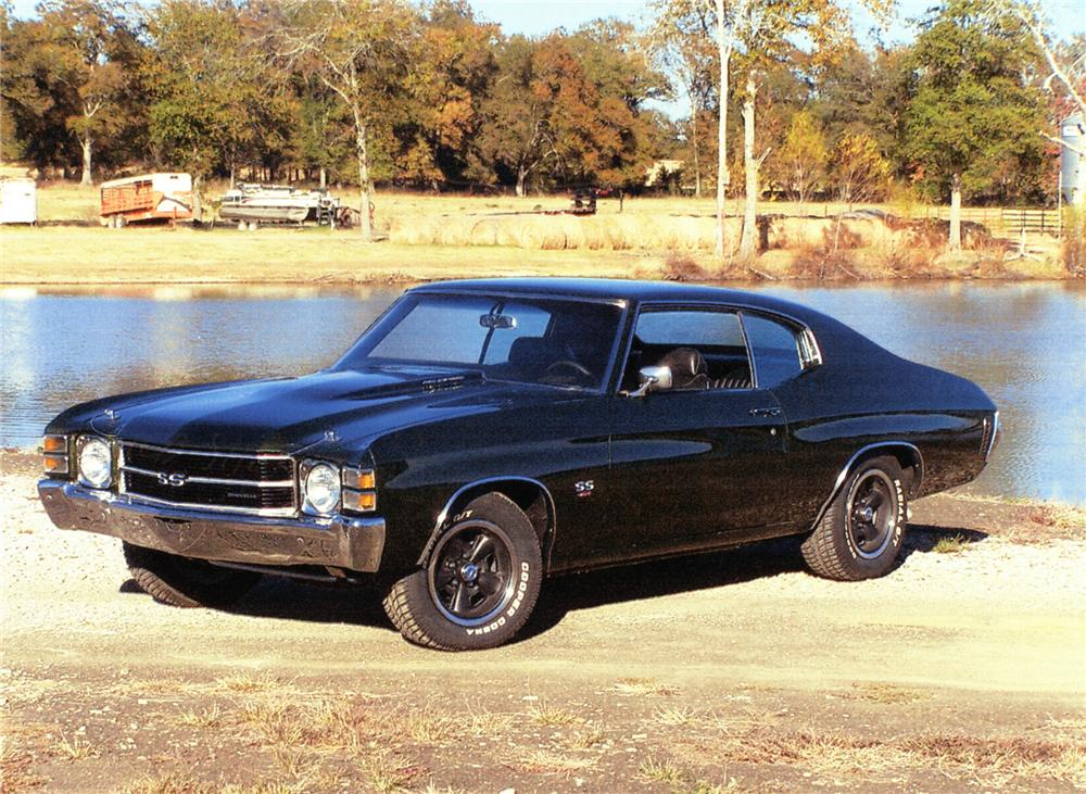 1971 chevrolet chevelle ss 2 door coupe 71925. Black Bedroom Furniture Sets. Home Design Ideas