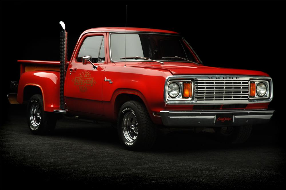 1978 DODGE LIL RED EXPRESS PICKUP - Front 3/4 - 71930
