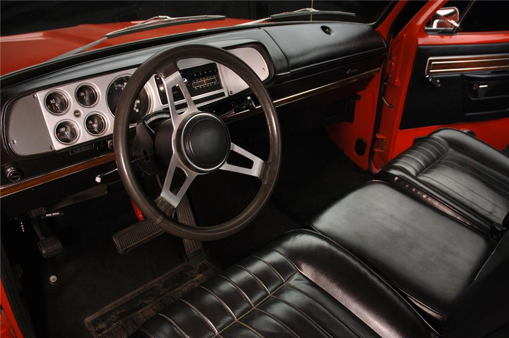 1978 DODGE LIL RED EXPRESS PICKUP - Interior - 71930