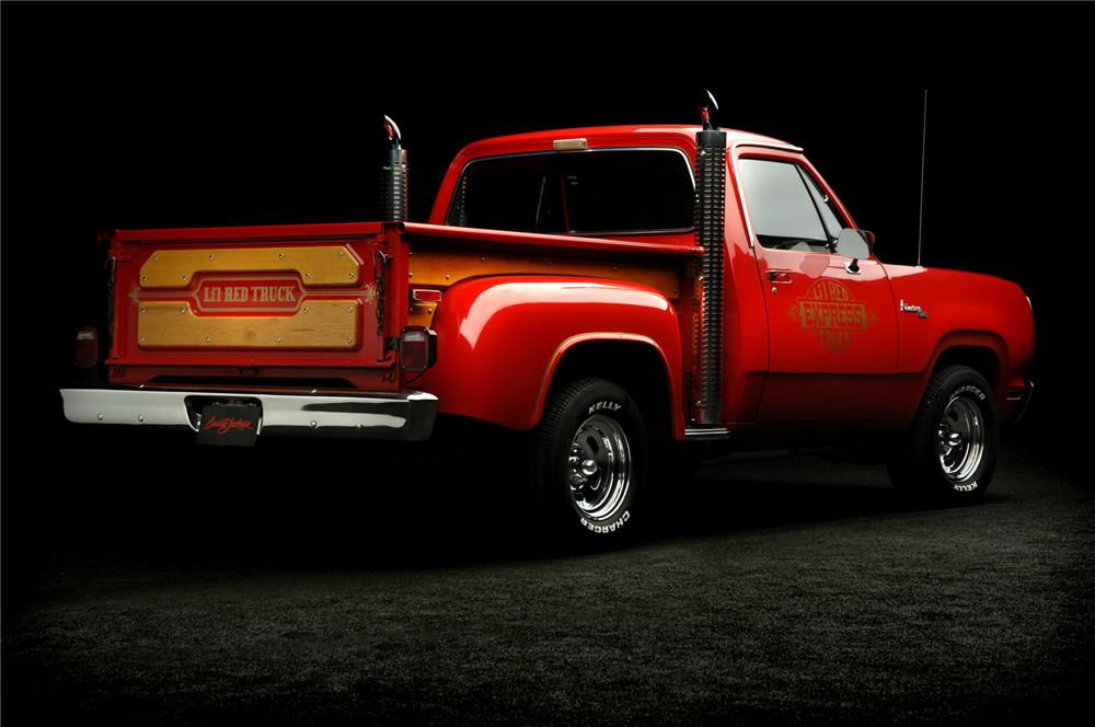 1978 dodge lil red express pickup rear 3 4 71930. Cars Review. Best American Auto & Cars Review