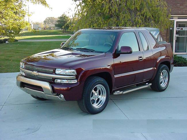 2000 CHEVROLET TAHOE 'K5' 2 DOOR SUV - 71940
