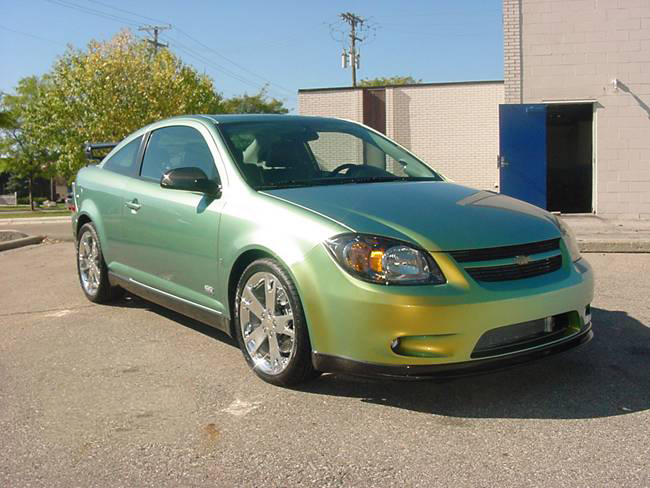"2005 CHEVROLET COBALT SS ""OPEN AIR"" CUSTOM - Front 3/4 - 71955"