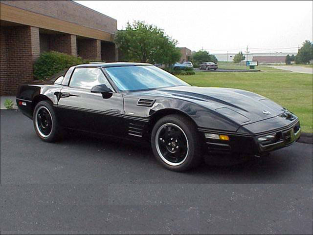 "1990 CHEVROLET CORVETTE ""ACTIVE"" ZR-1 COUPE PROTOTYPE - Front 3/4 - 71972"