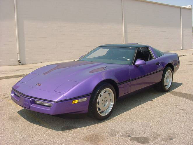 1989 CHEVROLET CORVETTE ZR-1 COUPE - Front 3/4 - 71986