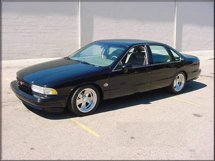 1992 CHEVROLET IMPALA SS 510 COUPE - Front 3/4 - 71996