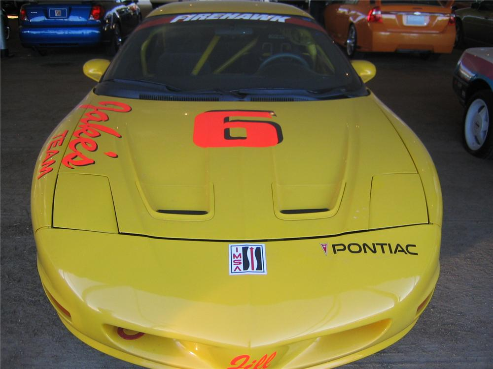 1993 PONTIAC FIREBIRD IMSA RACE CAR - Rear 3/4 - 72022