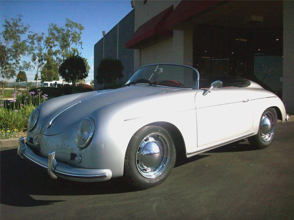 1957 PORSCHE 356 SPEEDSTER RECREATION - Front 3/4 - 72035