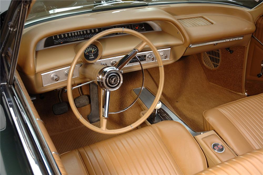1964 CHEVROLET IMPALA SS CONVERTIBLE - Interior - 72039