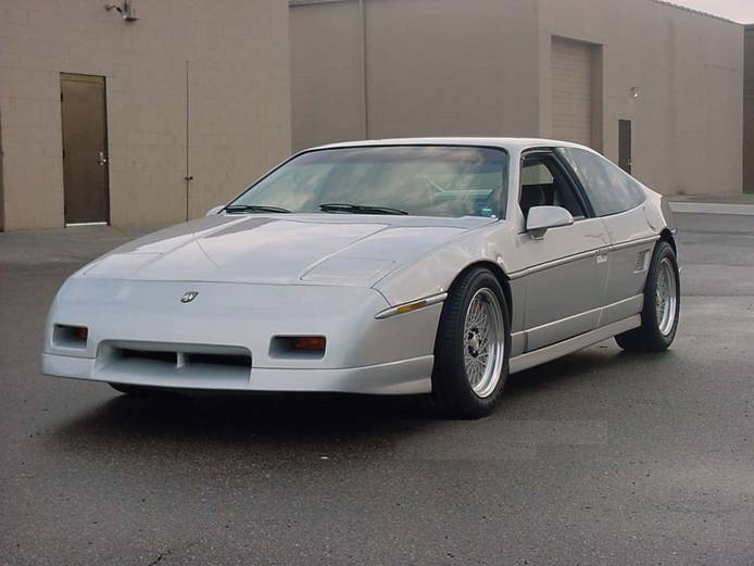 1984 Pontiac Fiero Gt 2 2 Coupe