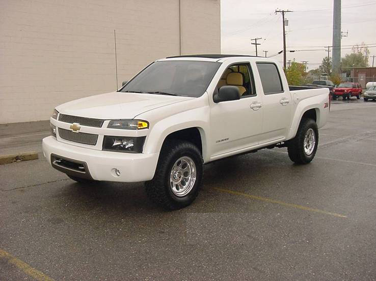 "2004 CHEVROLET COLORADO ""Z-71 VISION"" CUSTOM TRUCK - Front 3/4 - 72053"