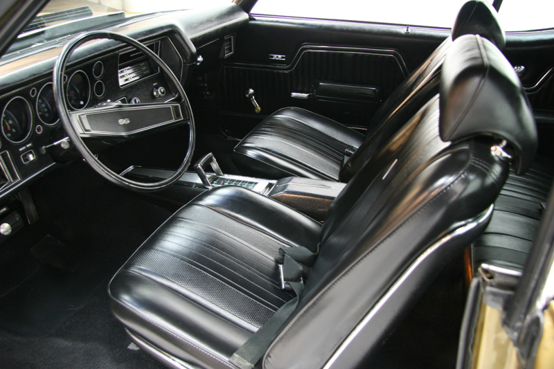 1970 CHEVROLET CHEVELLE LS6 COUPE - Interior - 72081