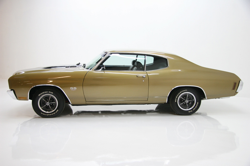 1970 CHEVROLET CHEVELLE LS6 COUPE - Side Profile - 72081